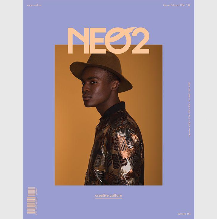 editorial moda vincent urbani neo2 magazine cover