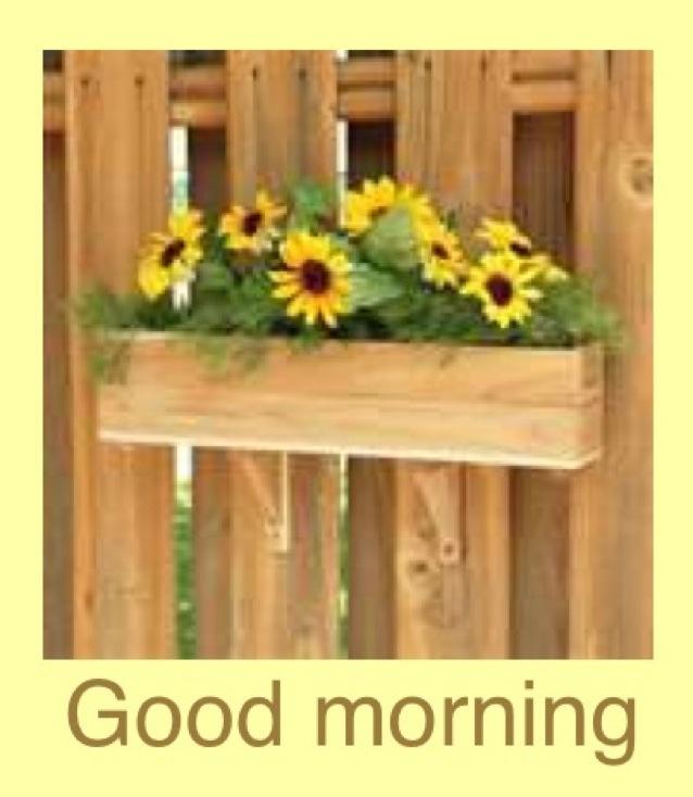 Rustic | Good morning | Pinterest