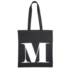 Initial cotton tote bag by Alphabet Bags $28 - Everything Begins