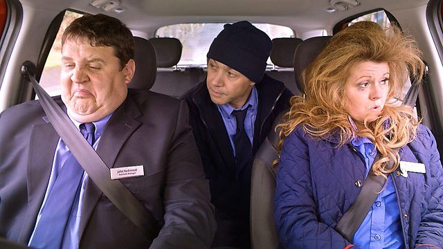 Peter Kay's Car Share is a British TV sitcom set around supermarket assistant manager John Redmond (Peter Kay) and promotions rep Kayleigh Kitson (Sian Gibson) and their participation in a company car share scheme. Whilst driving to and from work in John's Fiat 500L, the two have conversations whilst listening to fictional radio station Forever FM. The sitcom was filmed in and around Greater Manchester, notably Bolton, Manchester, Trafford…