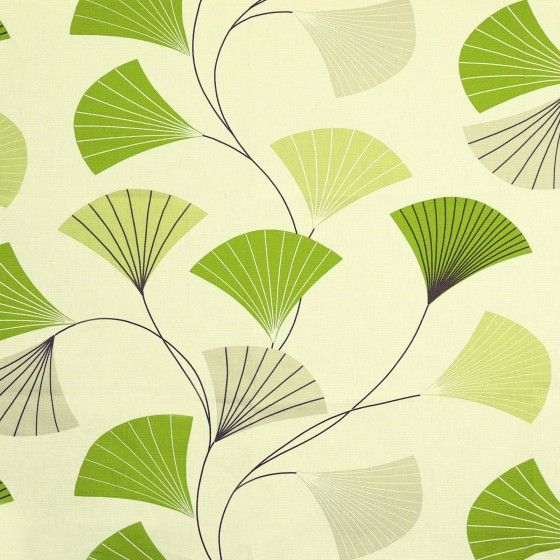 Lime Fan Roman Blind