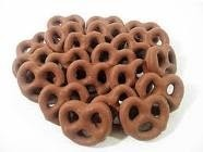 chocolate covered pretzel shot