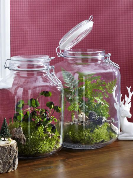 Herbstdeko inspiration for the home pinterest gl ser - Herbstdeko im glas ...