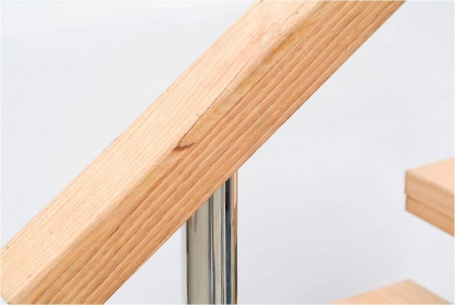 System 9A - Black Rock Balustrades - Stainless Steel Vertical Wire and Glass Balustrading and Fences