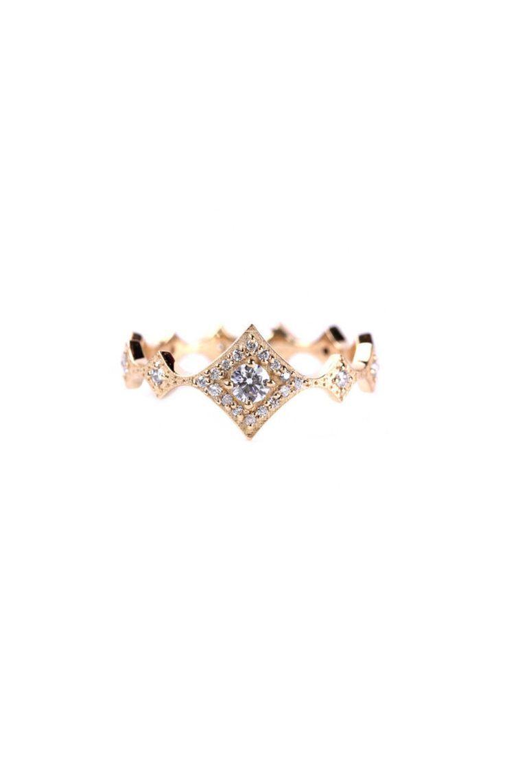 The 25 best Non diamond engagement rings ideas on Pinterest