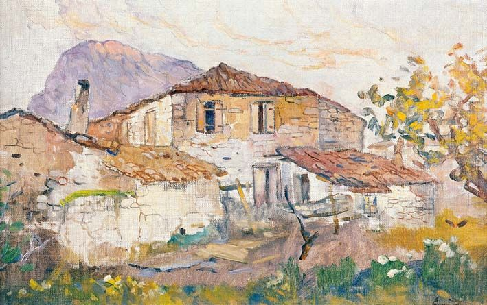Country Houses -Epaminondas Thomopoulos (Επαμεινώνδας Θωμόπουλος)
