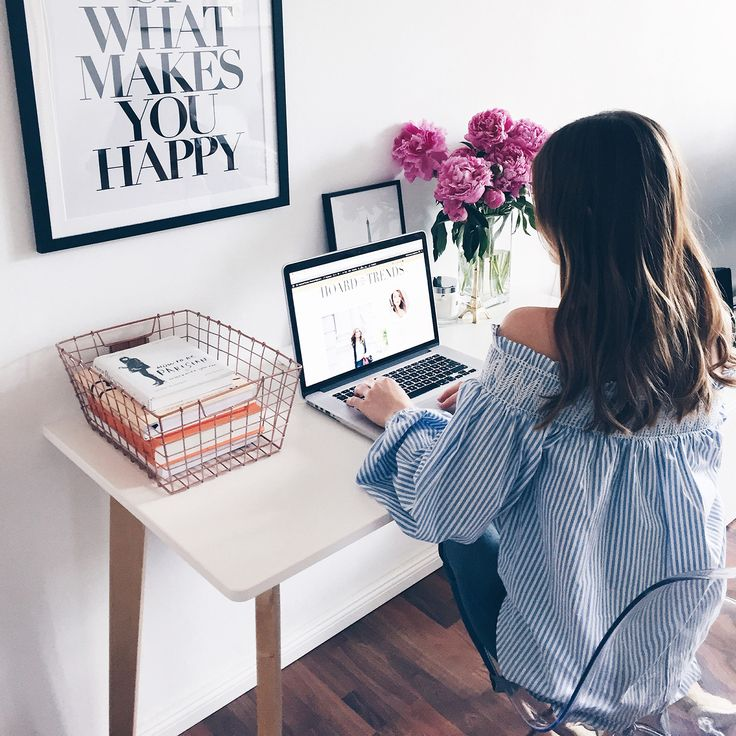 Workspace love // Home Office