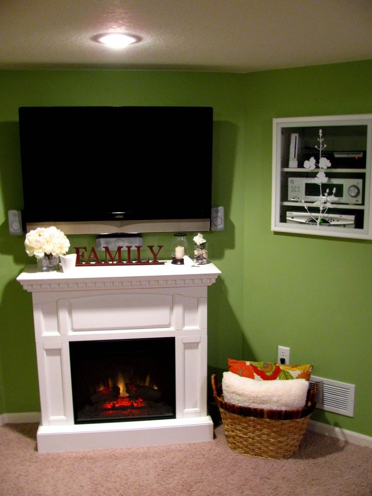 17 Best Images About Mantel Tv Ideas On Pinterest Corner Electric Fireplace Electric