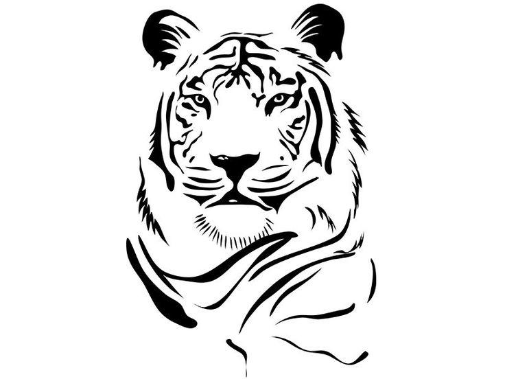 векторные черно белые картинки животных ним асфальте хорошо