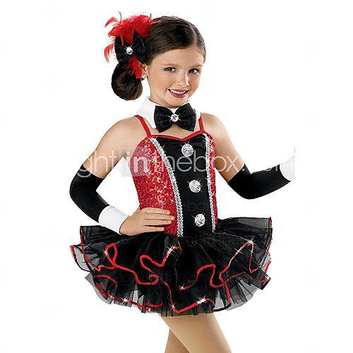 Children Dance Dancewear Children Girls Dance Dresses Kids Dance Costumes - USD $60.29