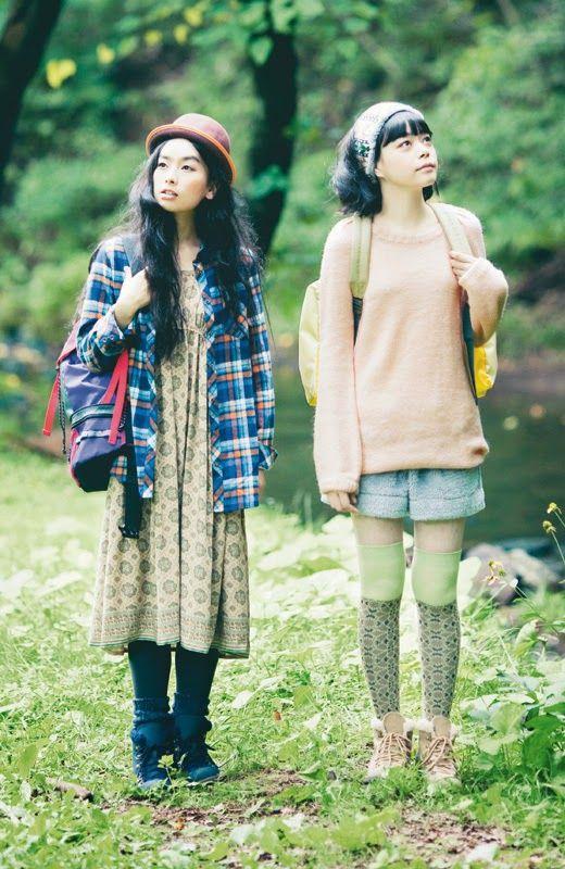 Dear Miss Kellie,: Mori Kei Sister Style Series: Yama Girl