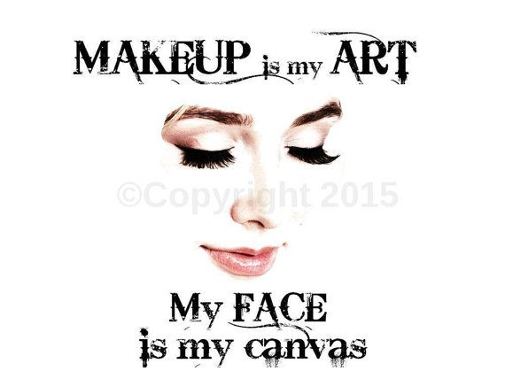 Makeup artist poster typography wall art, home decor, makeup studio, makeup poster, vanity,lashes, lips, eyes, beauty, statement piece print