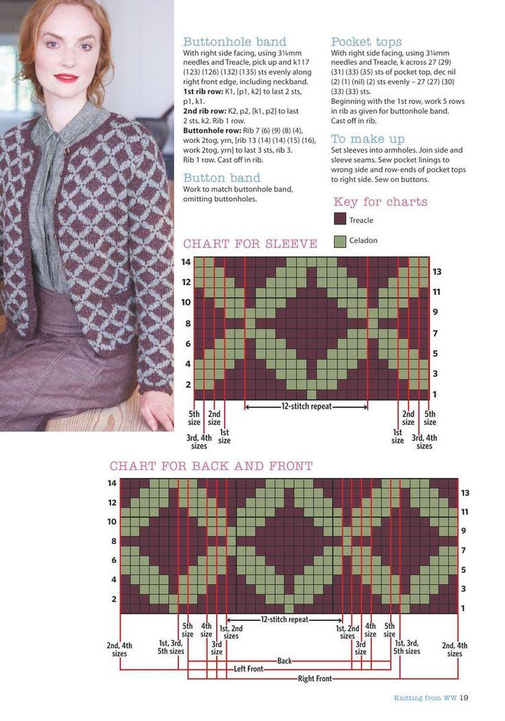 Knitting  Crochet  October 2016 - 轻描淡写 - 轻描淡写
