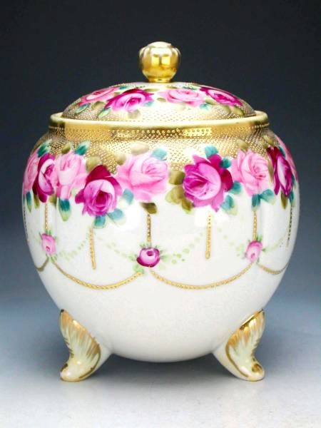 Old Noritake  1891 , Biscuit Jar