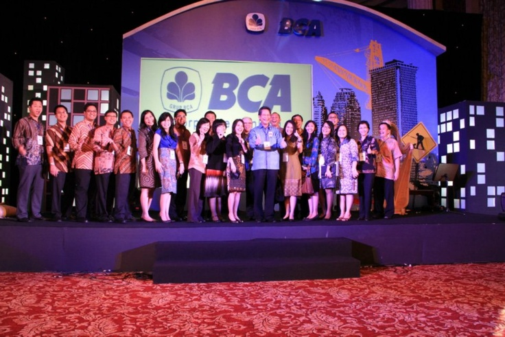 Masih foto yg sama, Creative Design @EvioPro Event BCA CORPORATE GATHERING INFRASTUCTURE INDUSTRY at Bali Room, Hotel Indonesia Kempinski