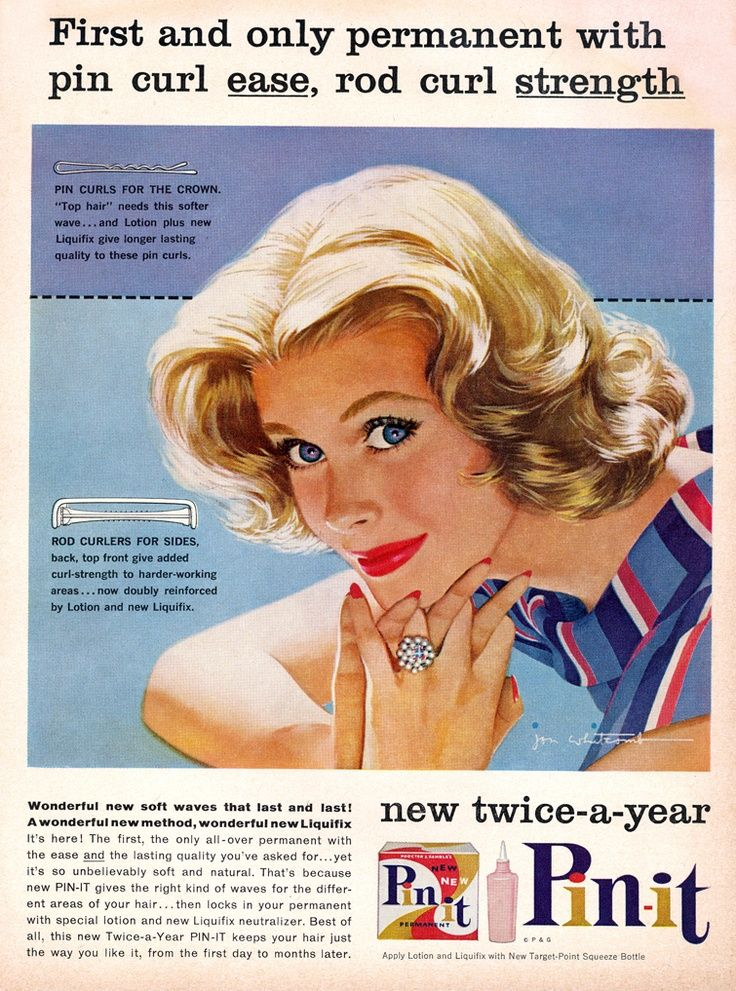 Pin it advert from 1959