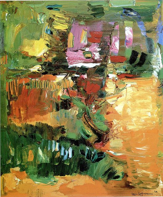 Hans Hofmann - In the Wake of the Hurricane, 1960   Flickr - Photo Sharing!