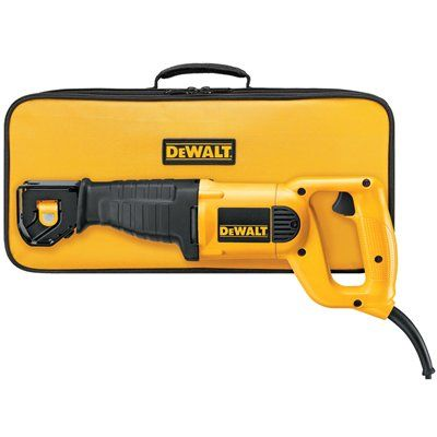 DEWALT DW304PK 10 Amp Variable Speed Corded Reciprocating Saw with Case