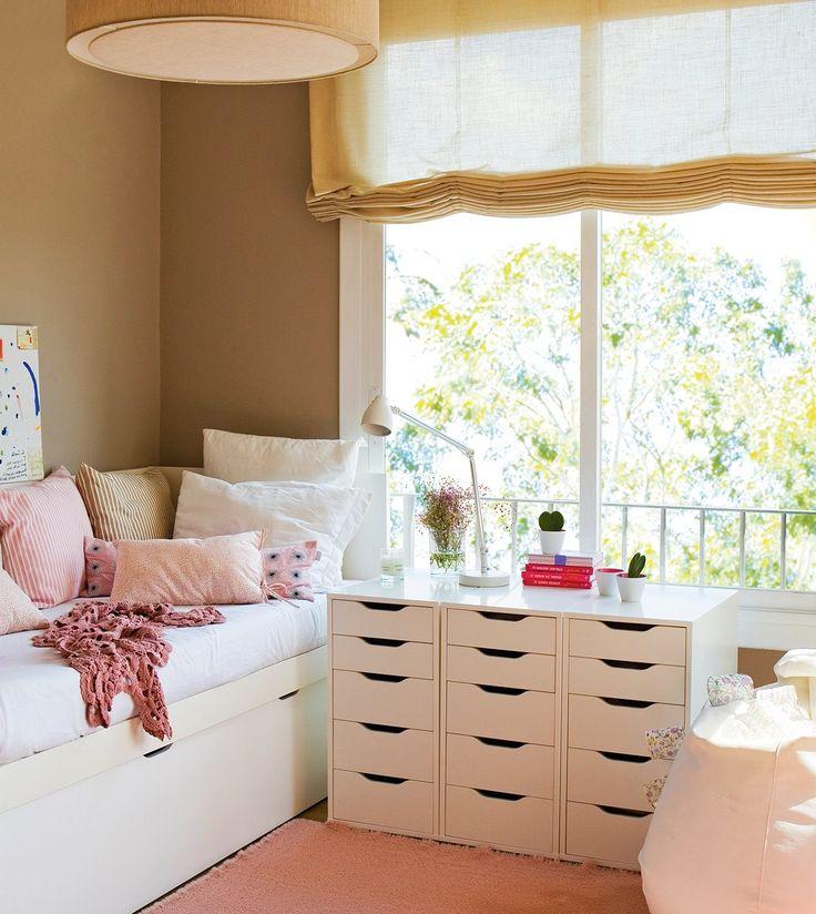 17 mejores ideas sobre cortinas de la habitaci n de los - Habitaciones de ninos pequenas ...