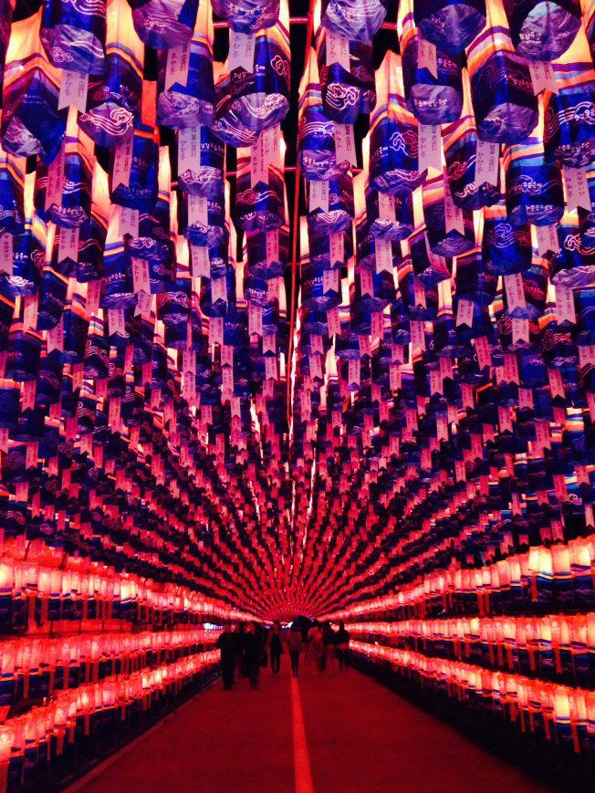 Jinju Lantern Festival, South Korea.