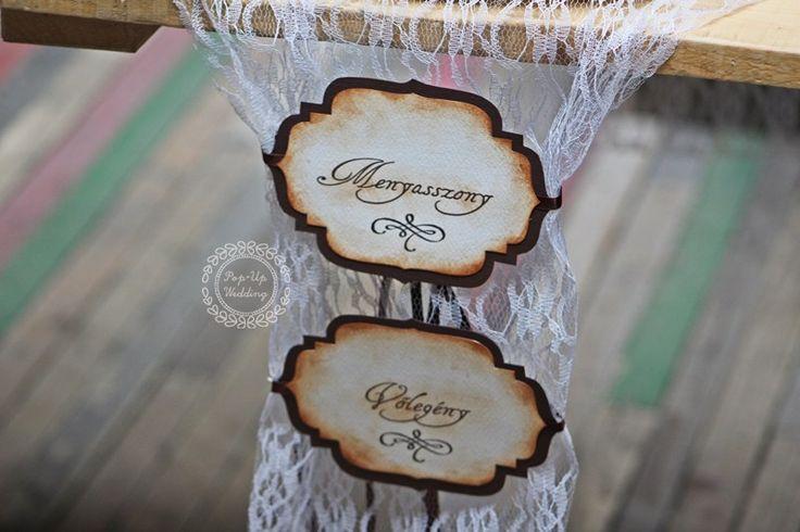 Esküvői széktábla #esküvőiszéktábla #székdekoráció #esküvőidekoráció #weddingchairdecor #weddingchairsigns #groom #bride info@popupwedding.hu, http://www.popupwedding.hu