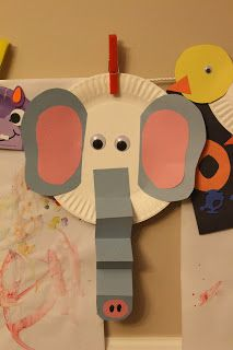 Elmer the Elephant Craft for friendship theme