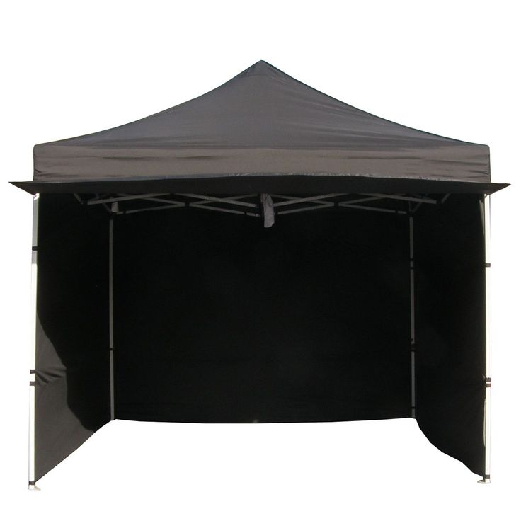 Alumix 10'x10' EZ Pop Up Canopy Tent Instant Canopy Commercial Tent with Sidewalls