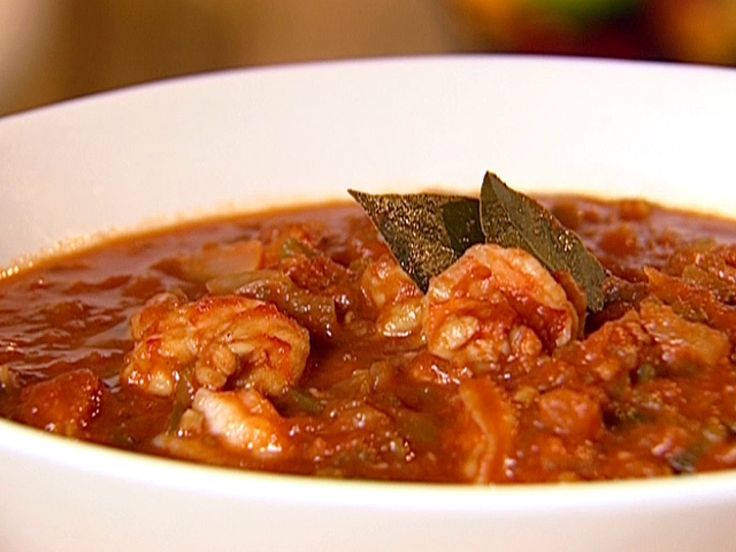 Shrimp Creole recipe from Patrick and Gina Neely via Food Network