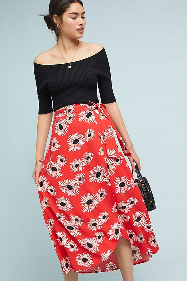 2d582cc26f5d Shop the Colloquial Wrap Skirt at Anthropologie today. Read customer  reviews, discover product details and more.