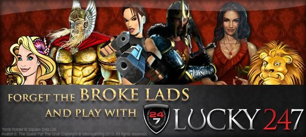 Show YOU Care and SHARE this!  Spread the news about Lucky247 & our awesome online casino games like Thunderstruck II, Immortal Romance, Mega Moolah and LOADS MORE!