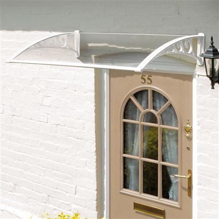 ACHICA | Greenhurst Door Canopy, White