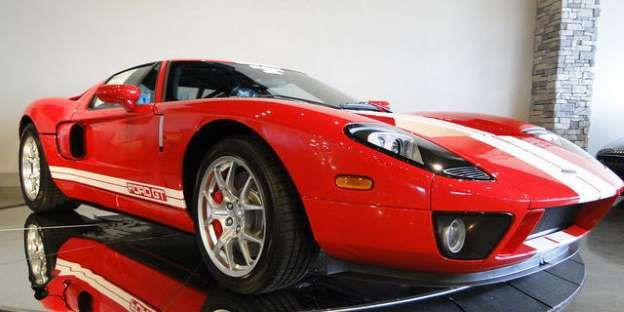 From Arkansas, you can get a pretty much mint condition Ford GT with only 12 miles on the clock. Cos... - eBay
