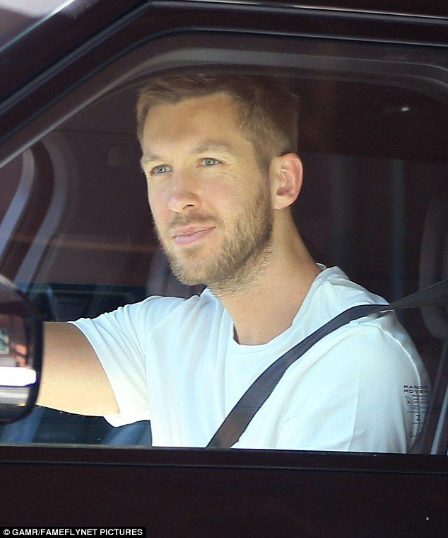 Single and roaming! Calvin Harrin seen in Beverly Hills, CA after split with Taylor Swift!