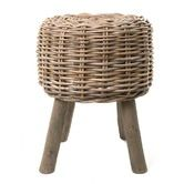 Found it at Temple & Webster - Round Woven Rattan Stool