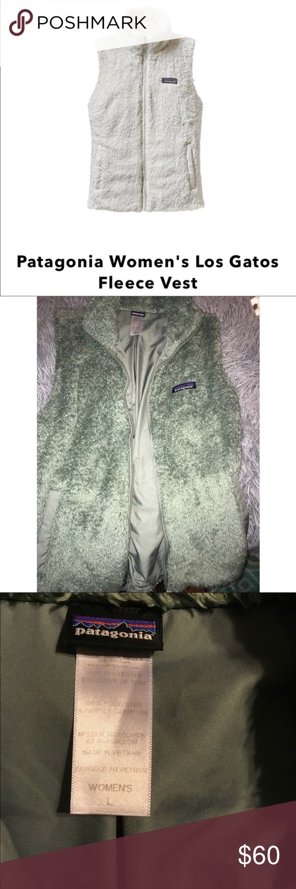 Patagonia Fleece Vest No holes or stains, in good shape Patagonia fleece vest in a pretty mint color. Patagonia Jackets & Coats Vests