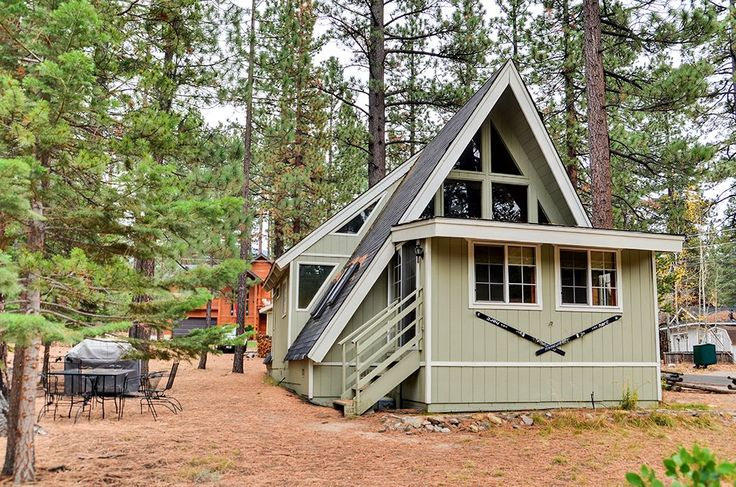 You'll love this Lake Tahoe A-Frame Cabin!