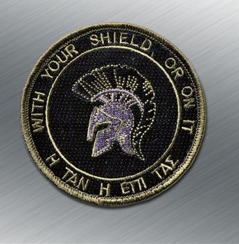 Tactical Outfitters Spartan Shield Bastion Patch