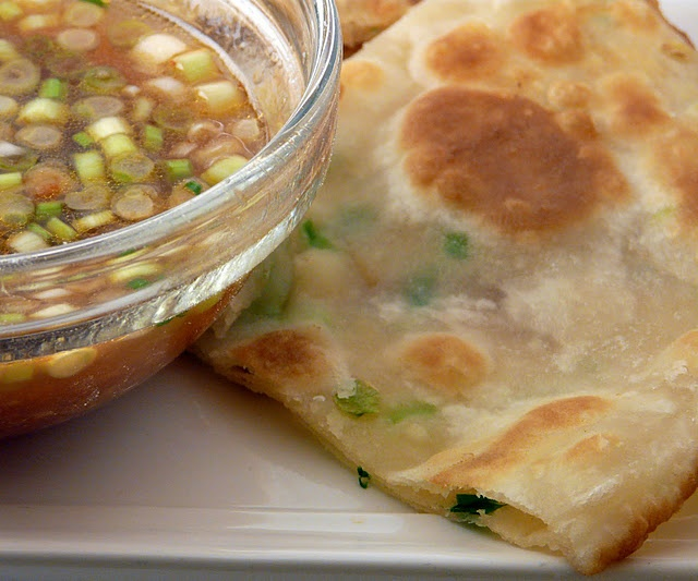 Scallion Pancakes (had them in China and fed them to the kid when she ...