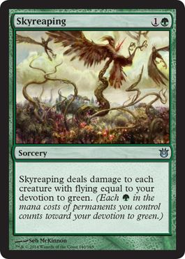 Skyreaping | Magic: The Gathering Card