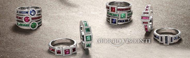Giorgio Visconti, gioielli d'autore! Vieni a scoprire le nuove collezioni... http://www.gioielleriagigante.it/contatti/