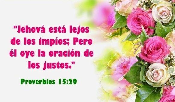 """¿De qué provecho es temer a Dios y aceptar su disciplina? El sabio responde: """"Jehová está lejos de los impíos; Pero él oye la oración de los justos. """" (Proverbios 15:29). El Dios verdadero se mantiene lejos de los malvados. """"El que aparta su oído para no oír la ley, Su oración también es abominable. """", dice la Biblia (Proverbios 28:9). Quienes temen a Dios y procuran seguir sus justas normas pueden acercarse a Él con libertad y con plena confianza de que los oirá."""