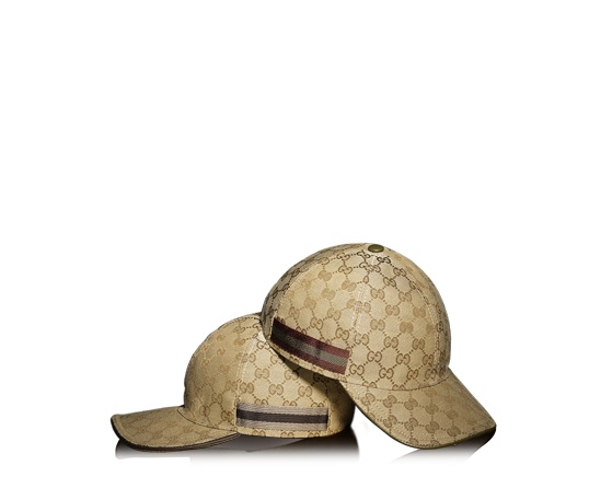 casquette de baseball en tissu original GG