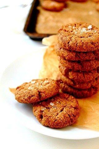 Almond Butter Stevia Cookies (24)