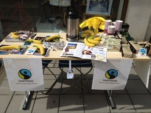 Lillehammer Fairtrade-kommune: På stand for Fairtrade