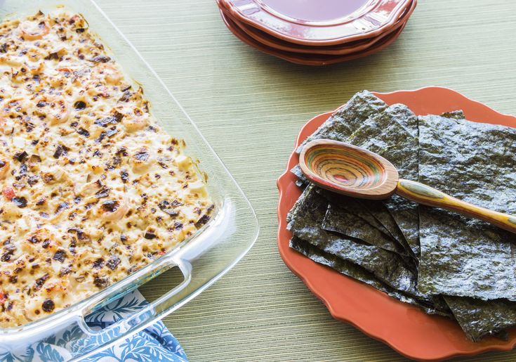 Crab & Mushroom Sushi Casserole | TJ's Warehouse: Maui's choice for fine catering and Asian foods