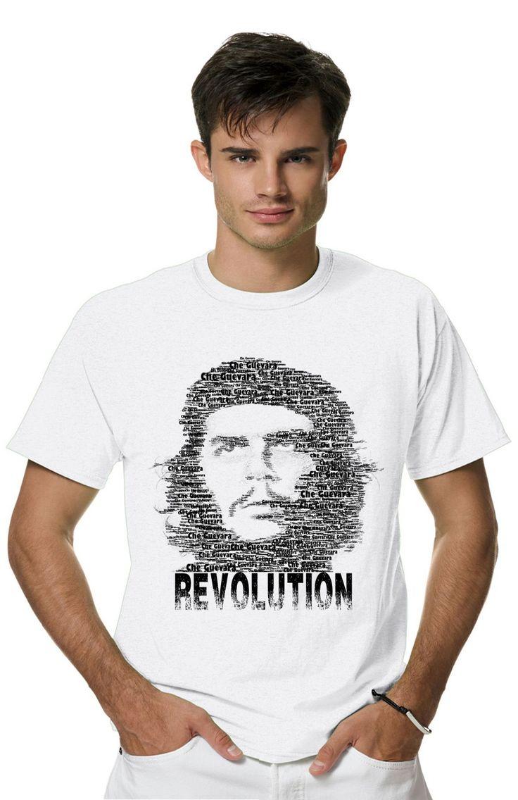 Футболка CheGevara из коллекции PERSONA пропитана настоящим духом свободы и стиля! Мужская футболка с прикольным принтом