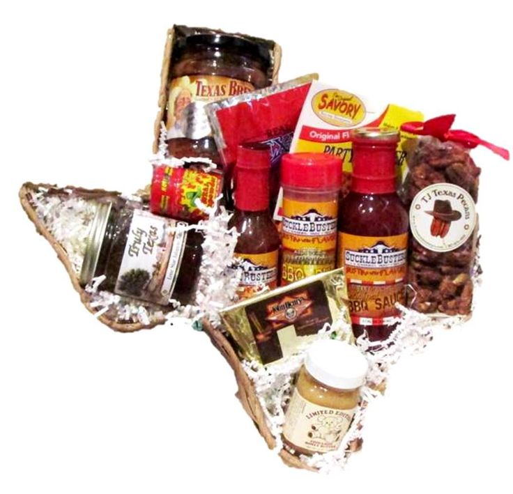 Taste of Texas Ranch Cook Food Gift Basket is loaded with great tasting Texas treats | Treasure Journeys  #Texas
