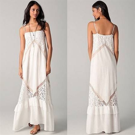 Nice White boho dress 2018-2019 Check more at http://fashionmyshop.com/review/white-boho-dress-2018-2019/