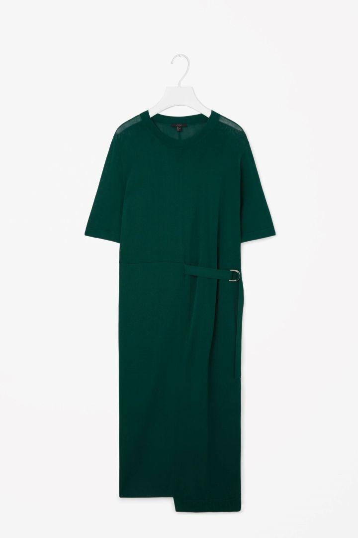 COS | Belted split level dress