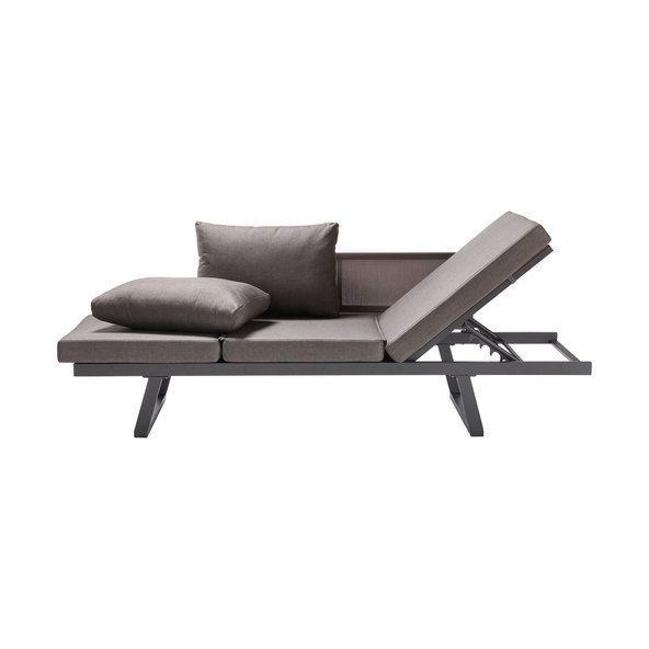 Outliv Gartenbett Inkl Auflagen Onlineshop Aldi Liefert Tagesbett Terrassenmobel Lounge Aussenmobel